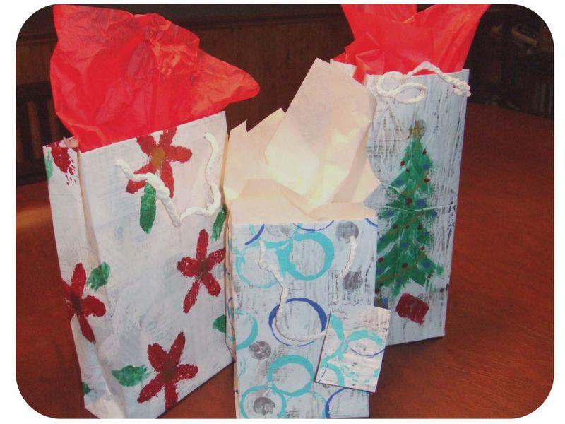 Newspaper Gift Bags 2