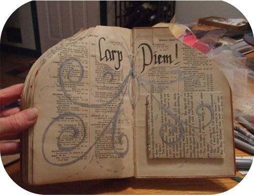 Upcycled Book Doll d