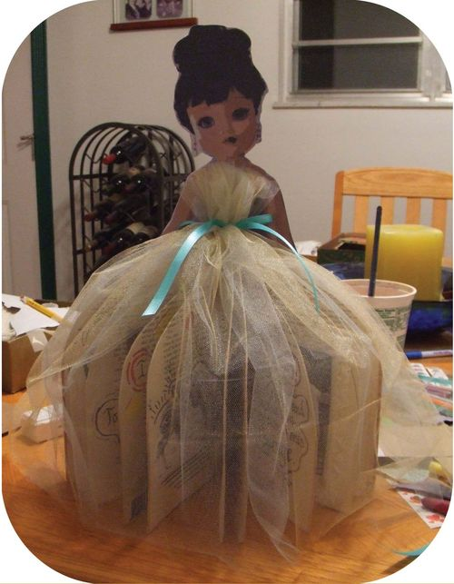 Upcycled Book Doll