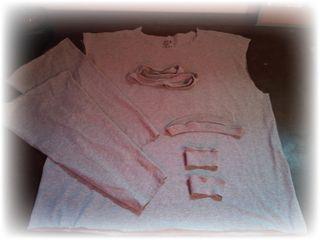 T-shirt 1 deconstructed