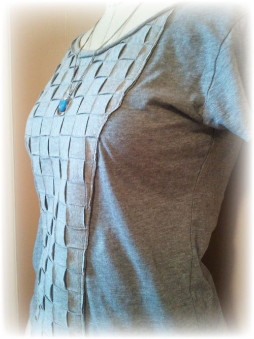 Finished Upcycled T-Shirt a