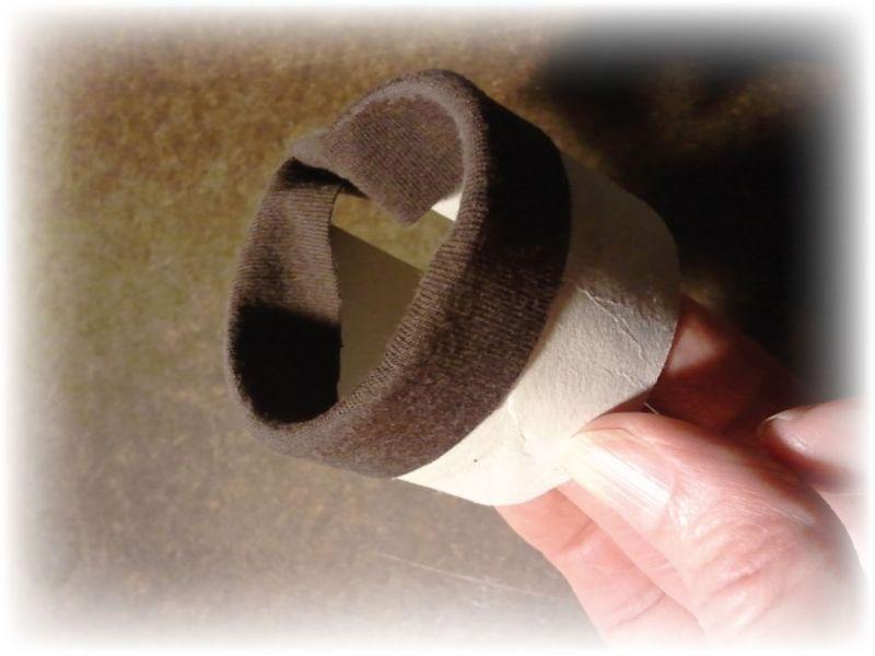 Toilet Paper Roll Cuff Step 5