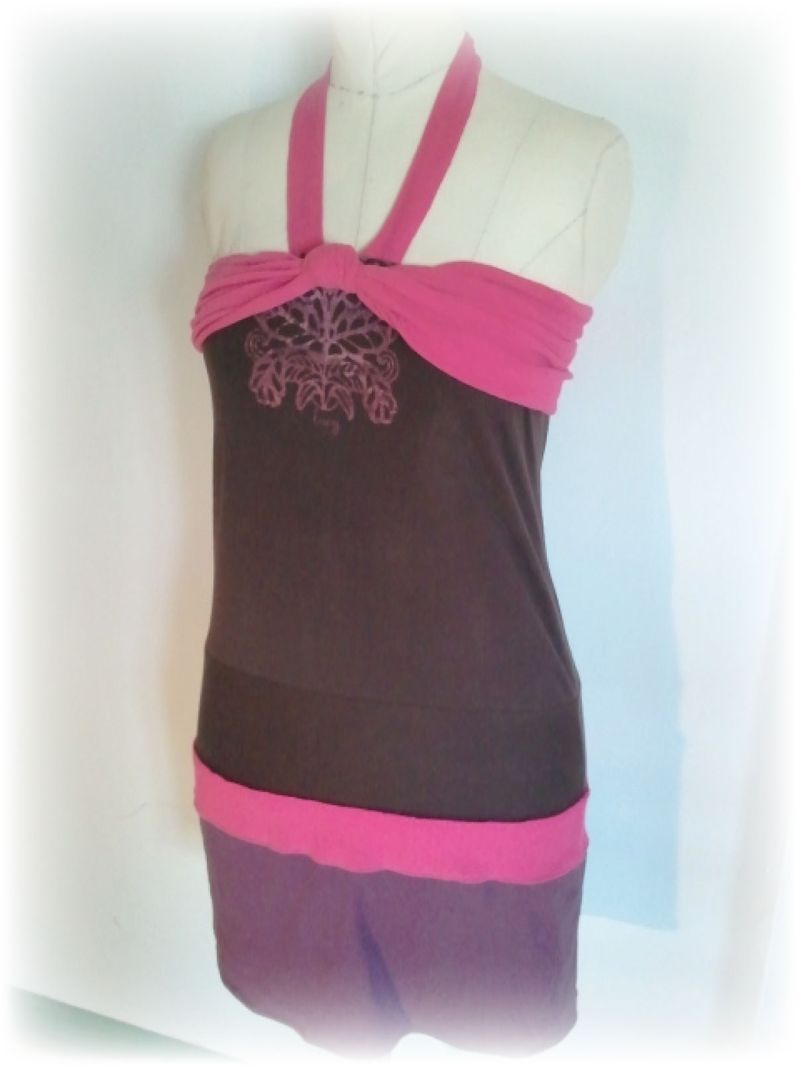 Upcycled T-shirt Dress a