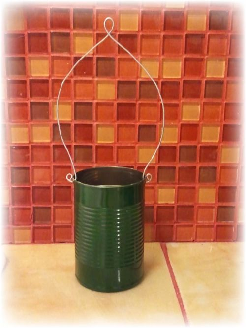 Upcycled Tin Can Flower Pots - 9
