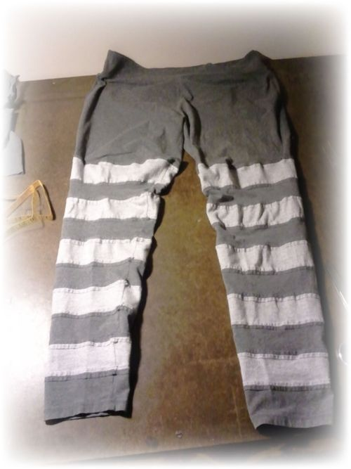 Upcycled T-shirt Leggings
