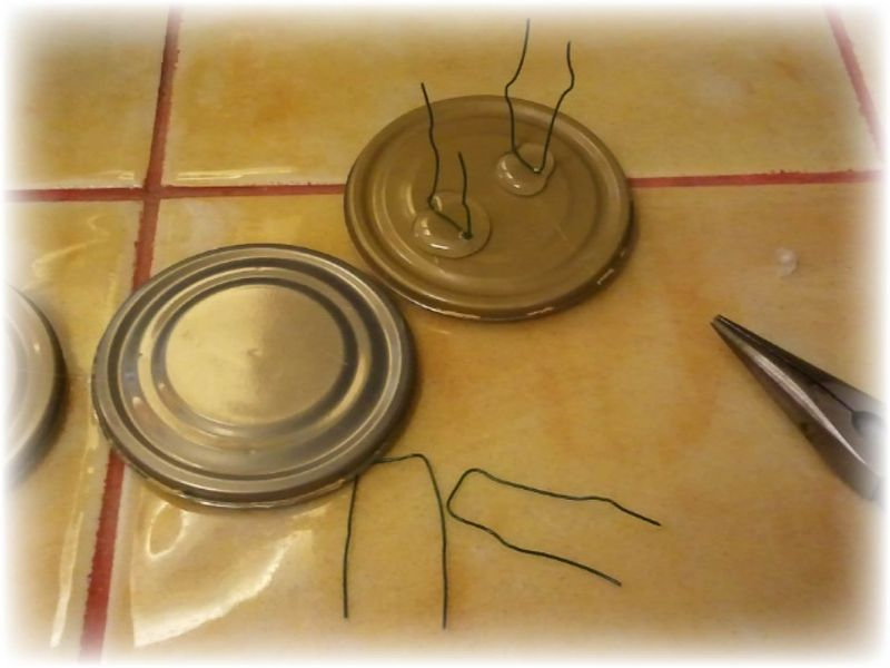 Upcycled Wire Hanger Edging Fence - Step 14