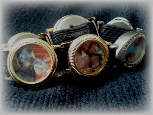Watch Charm Bracelet