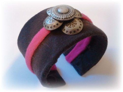 Toilet Paper Roll Cuff Bracelet a