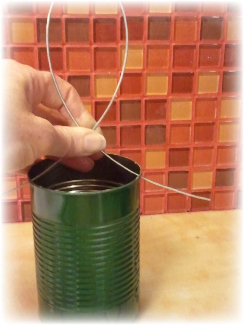 Upcycled Tin Can Flower Pots - 7