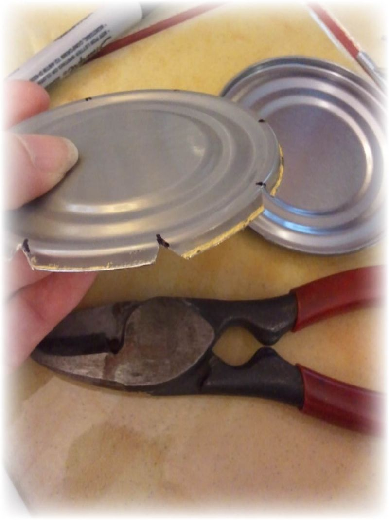 Upcycled Tin Can Flower Pots - 13