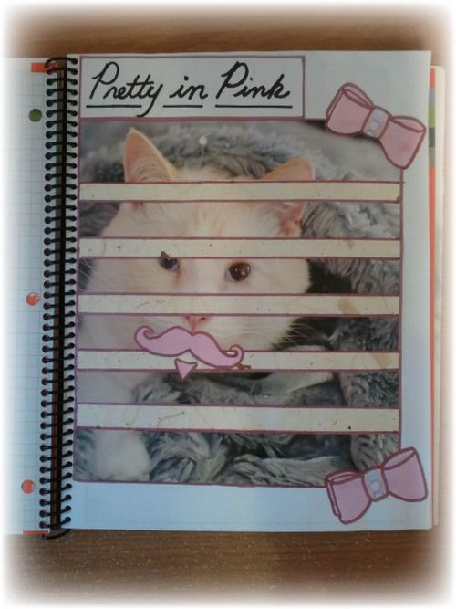 Upcycled Smash Book Day Planner Calender Pic 8