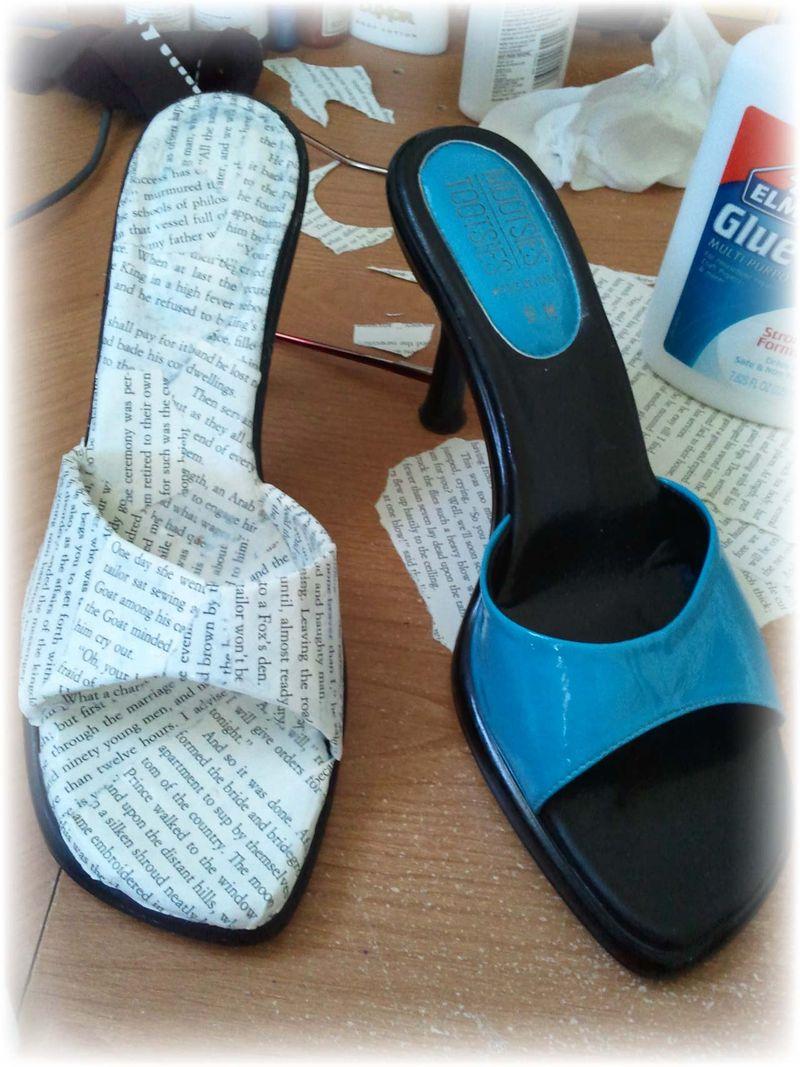 Upcycled Shoe 5