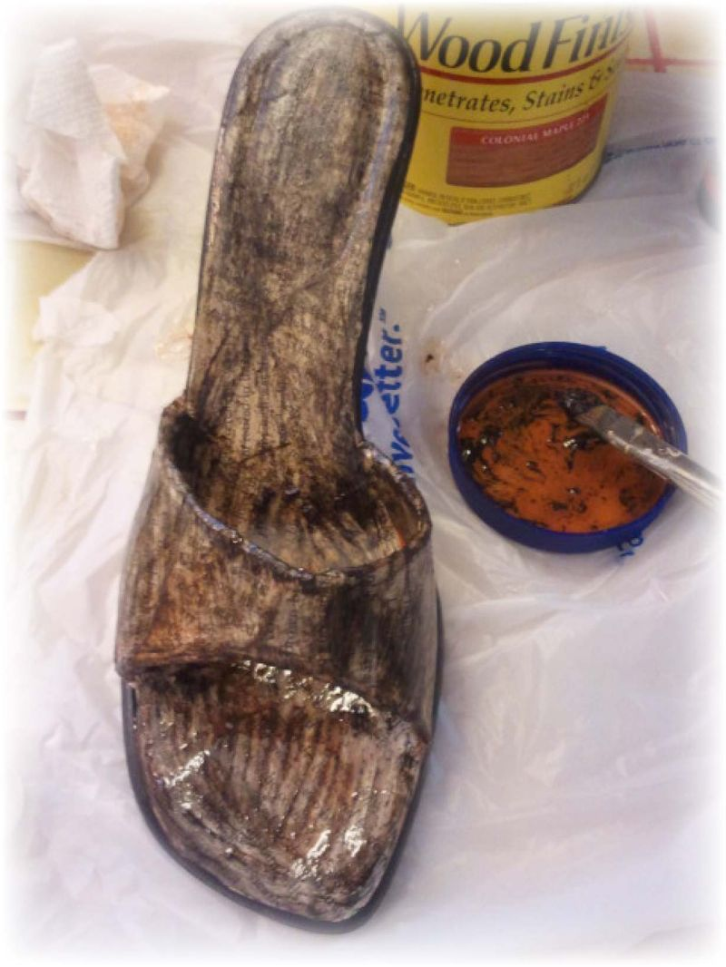 Upcycled Shoe 8