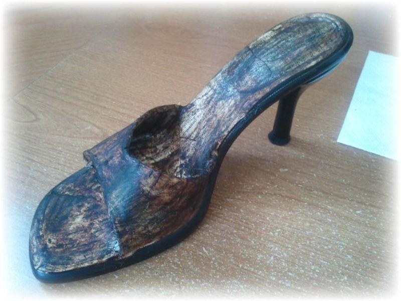 Upcycled Shoe 11