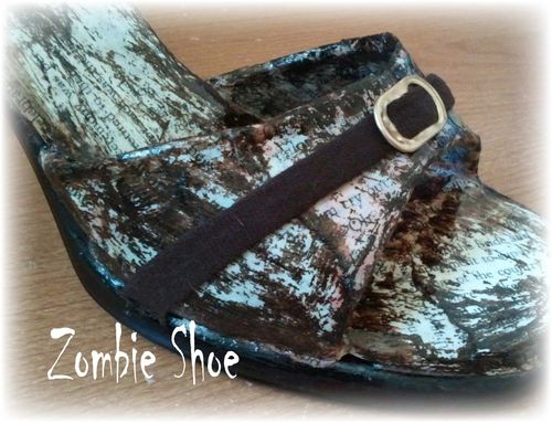 Upcycled Shoe 18