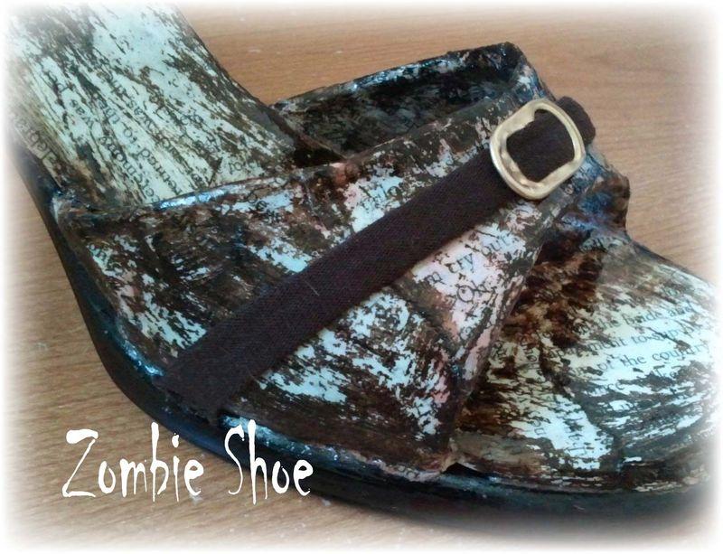 Upcycled Shoe 18
