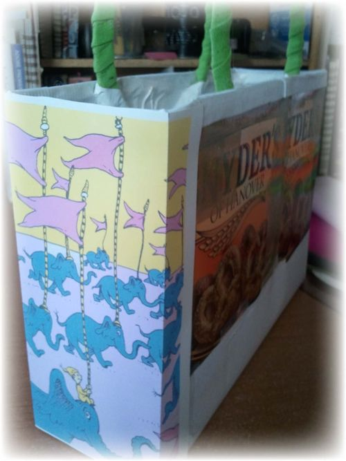 Upcycled Dr Suess Gift Box - 15