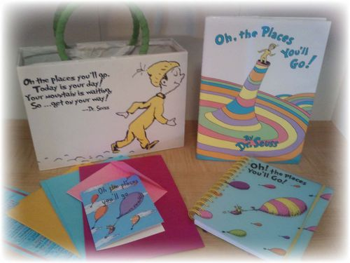 Upcycled Dr Suess Gift Box - 19