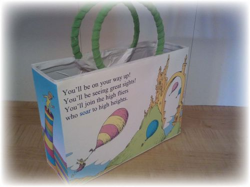 Upcycled Dr Suess Gift Box - 17