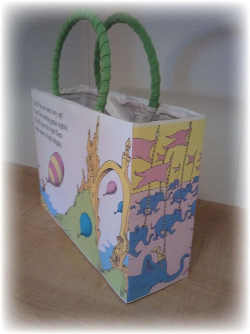 Upcycled Dr Suess Gift Box - 18