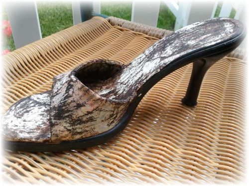 Upcycled Shoe 12
