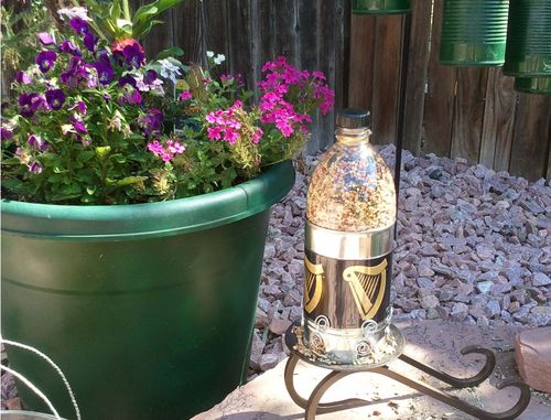 Upcycled Bird Feeder 18