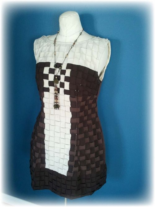 Upcycled T-shirt Dress Pic 5