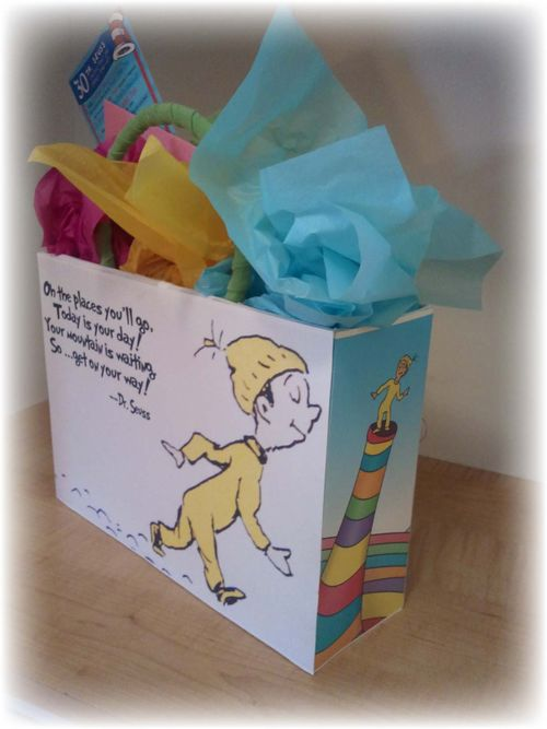 Upcycled Dr Suess Gift Box - 20