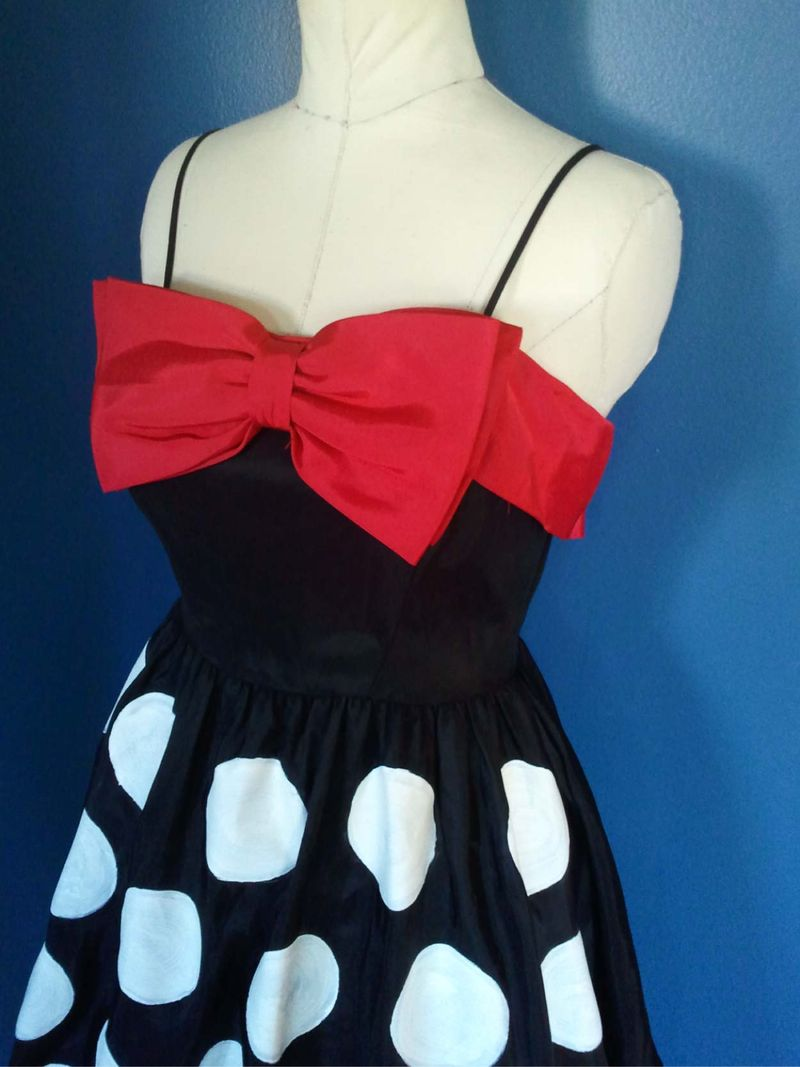 Upcycled Mini Mouse Dress 8