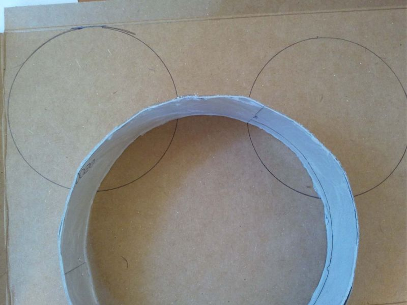 Upcycled Mini Mouse Ears 7