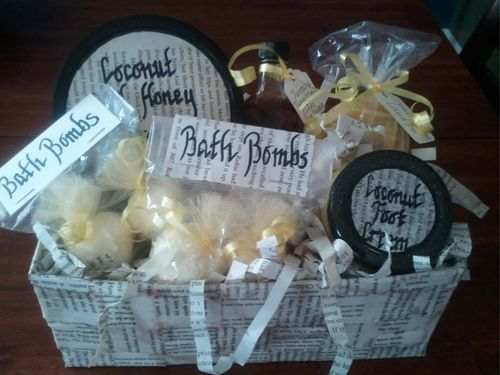 Upcycled Gift Basket