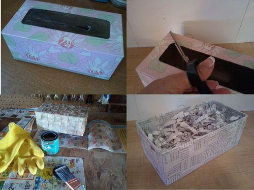 Upcycled Gift Basket - 7