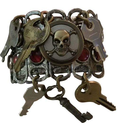 Steampunk Junk Bracelet