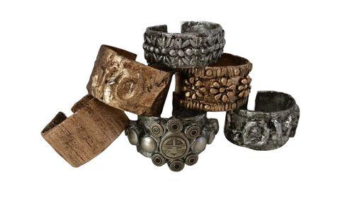 Paper Tube Bracelets