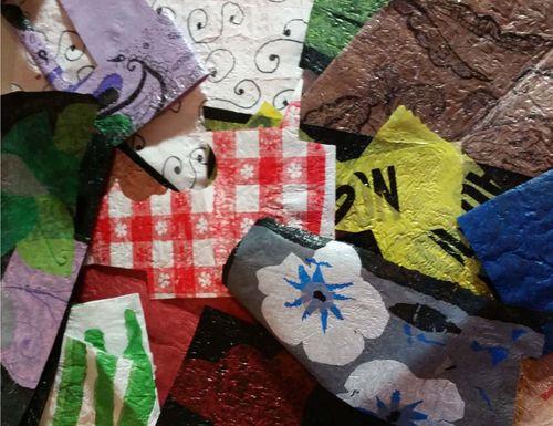 Plastic Bag Fabric