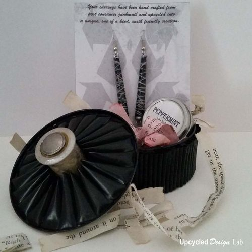 Empty Metal Gift Baskets : Upcycled design lab tin can gift baskets