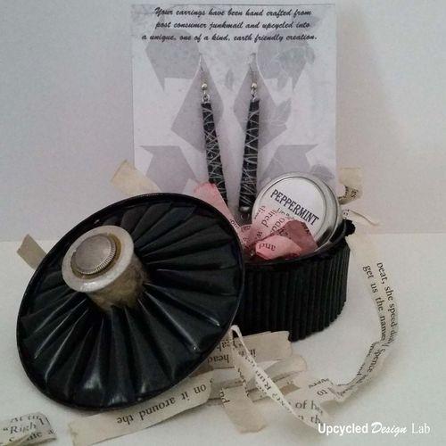 Upcycled Tuna Tin Gift Basket 4