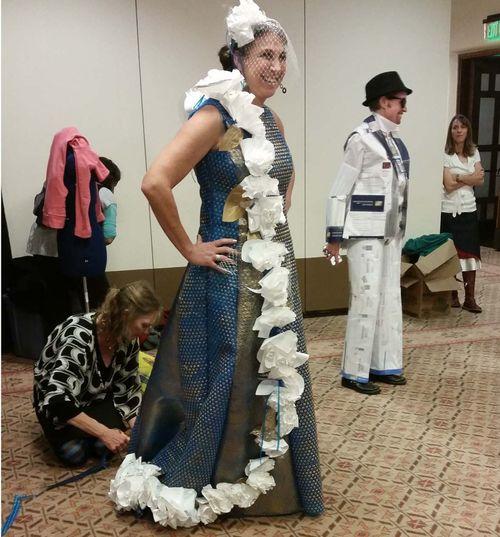 Trash Fashion Show 2nd place