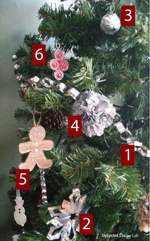 My trashy Christmas Tree 1d