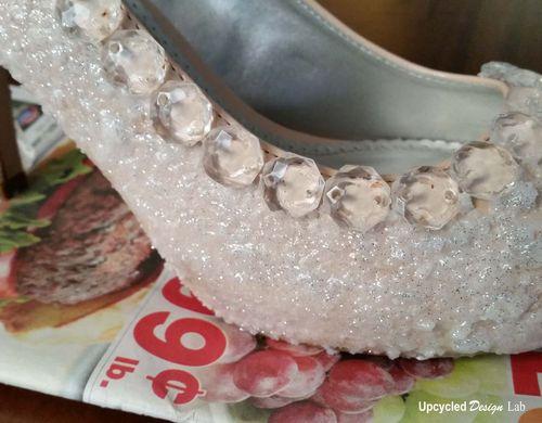 Cinderella Glass Slipper Sugar Shoes Pic 9