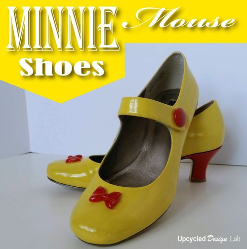 Minnie Mouse Shoes - 1