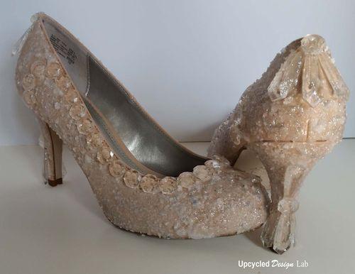 Cinderella Glass Slipper Sugar Shoes Pic 10