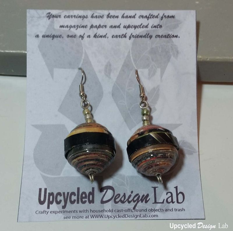 Quilled Paper Earrings Pic 20