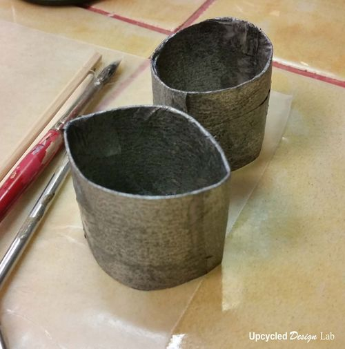 Upcycled Napkin Ring 1g