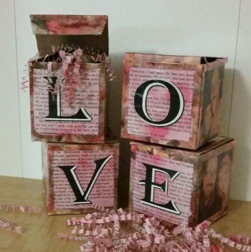 Valentine LOVE Box Blocks 1d