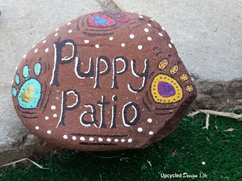 Painted Rock Puppy Patio Pic 7