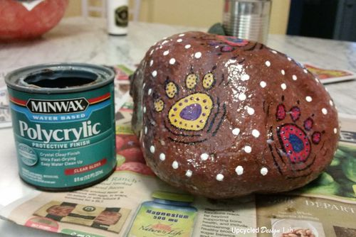 Painted Rock Puppy Patio Pic 8