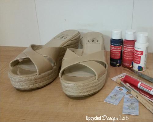 4th of July Shoe Fun 1