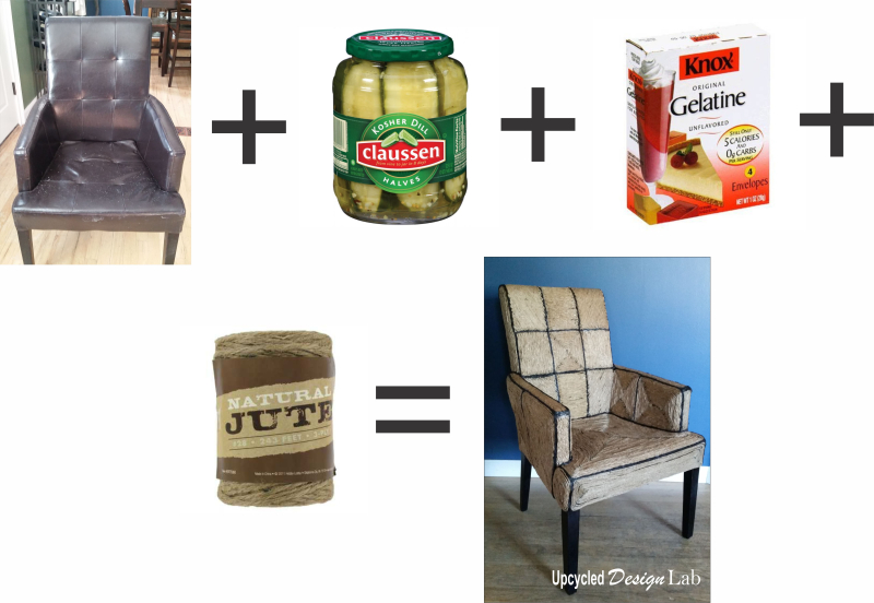 Pickle Juice Chair - Crazy Math Equation