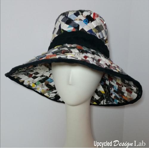 Woven Sun Hat - 5